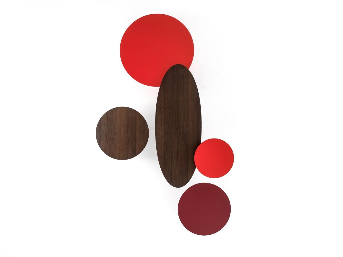 Collezione Ademar i tavoli di Giulio Iacchetti per Bross 08
