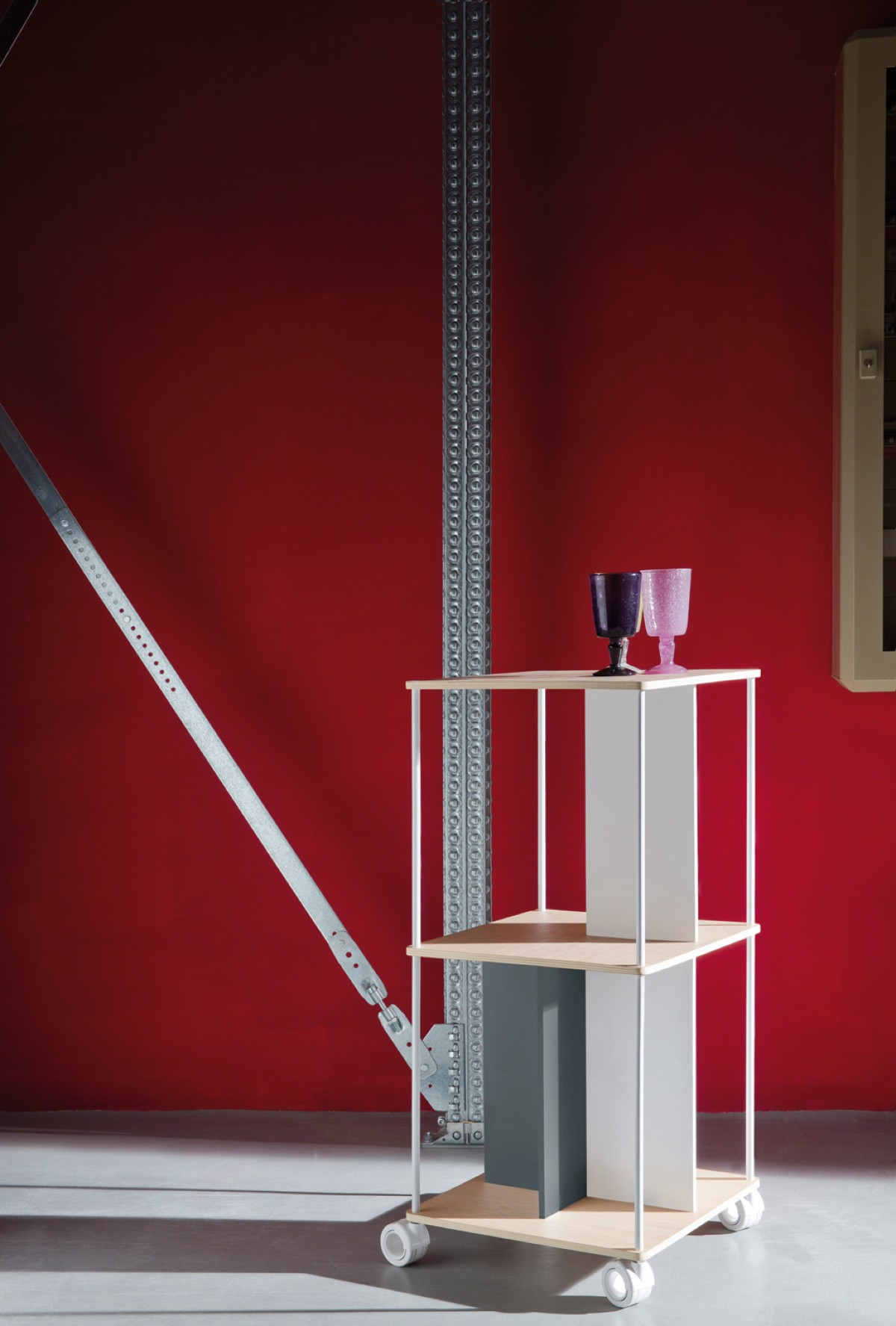 Christmas design B-Line: cabinet DOMINO modular design by Favaretto & Partners