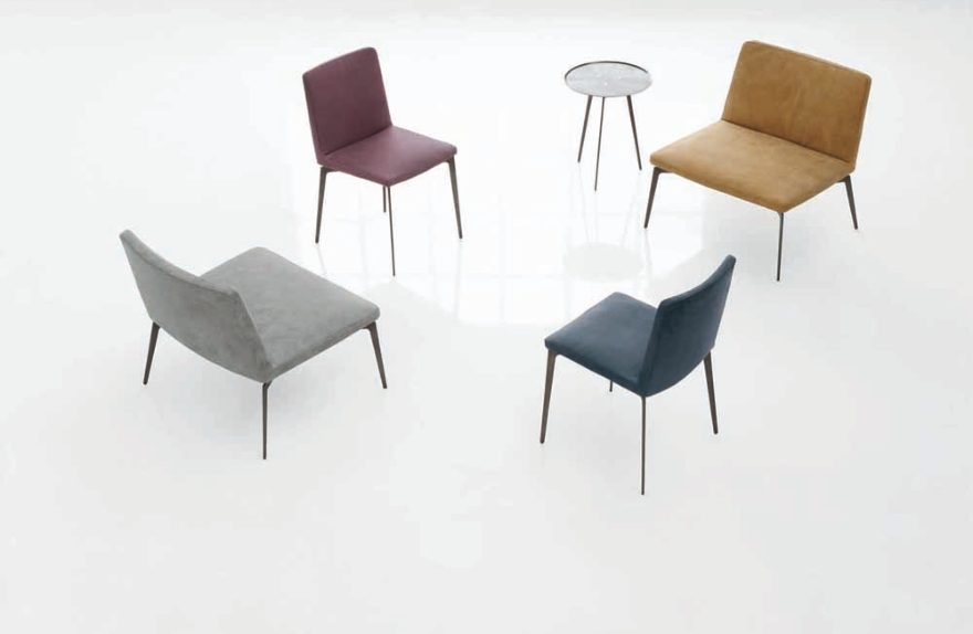 Trend interior design of Alivar Fall / Winter 2015 / 2016, chairs and armchairs Flexa