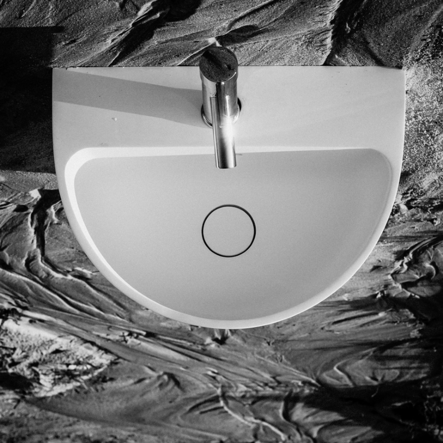 Washbasin Kaliya, Vicent Clausell design for the brand Sanycces