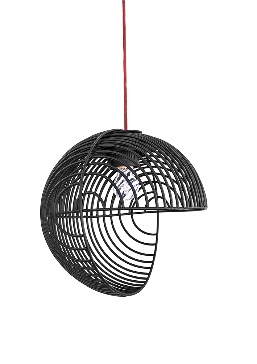 Pendant lamp optical Luis Alberto Arrivillaga 05