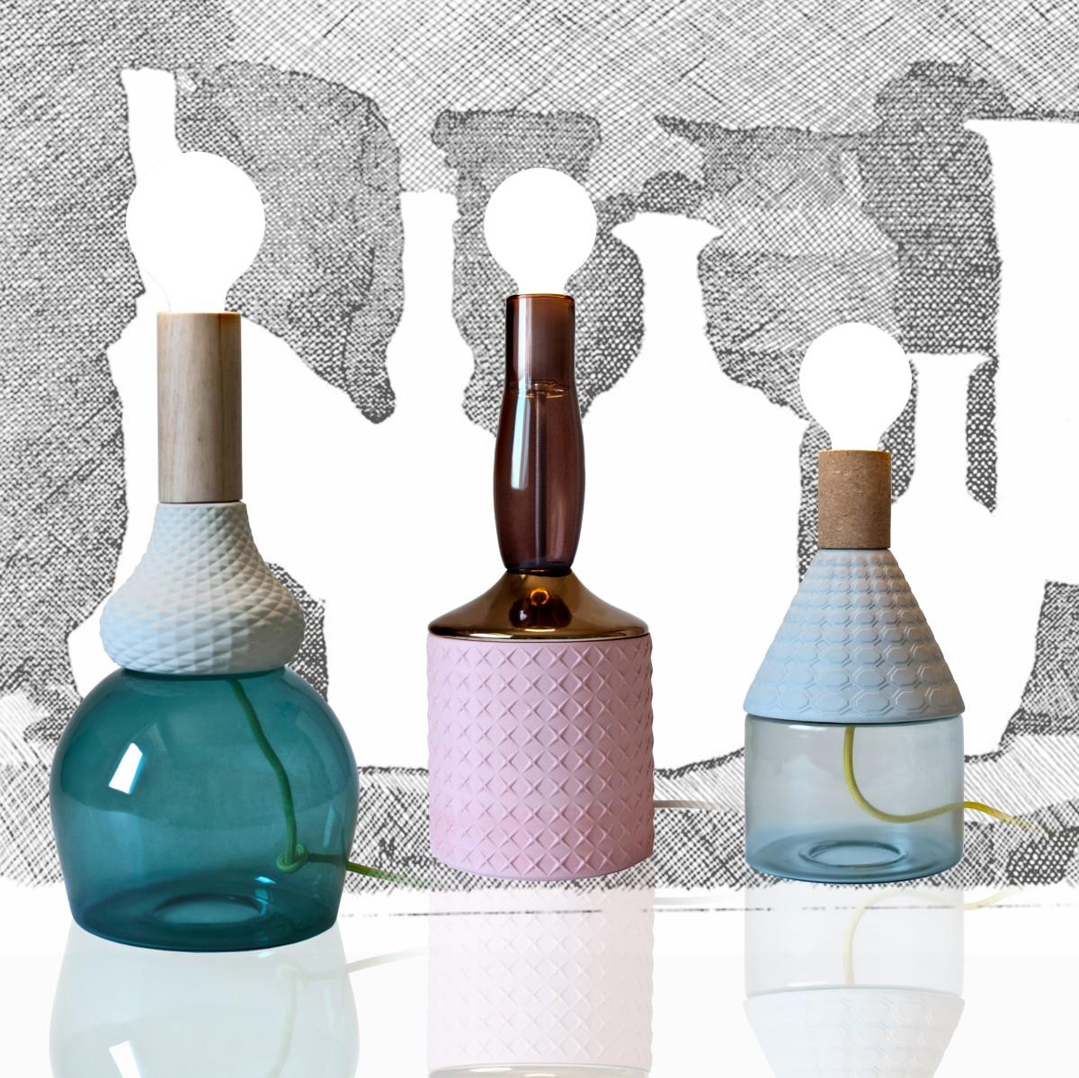 Idées de cadeaux de Noël 2015, MRND Anna, Dina, Maria Teresa, Design Elena Salmistraro