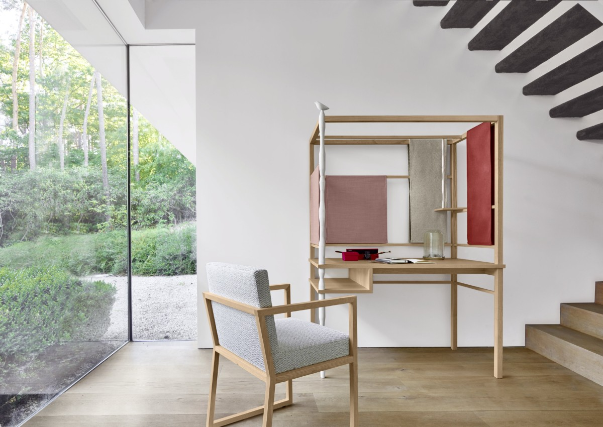scrivania koya design marie christine dorner per ligne roset. Black Bedroom Furniture Sets. Home Design Ideas