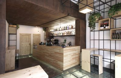 Salón cafetería Ai jueces de Palermo, de Studio DIDEA