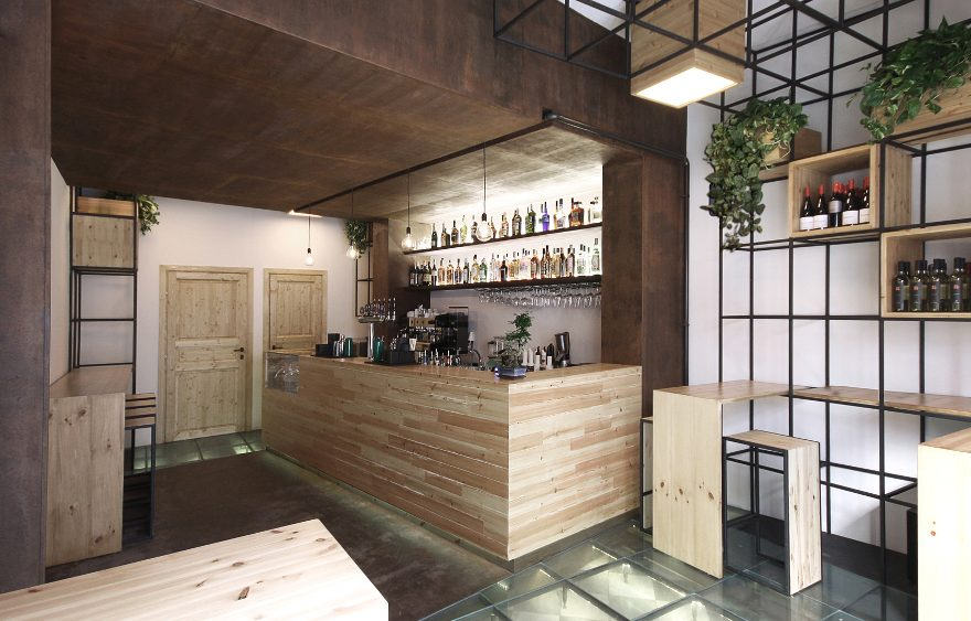 Cafeteria Lounge Bar Ai Richter in Palermo, von Studio DIDEA