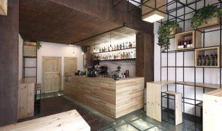 Caffetteria Lounge Bar Ai Giudici a Palermo, by Studio DiDeA