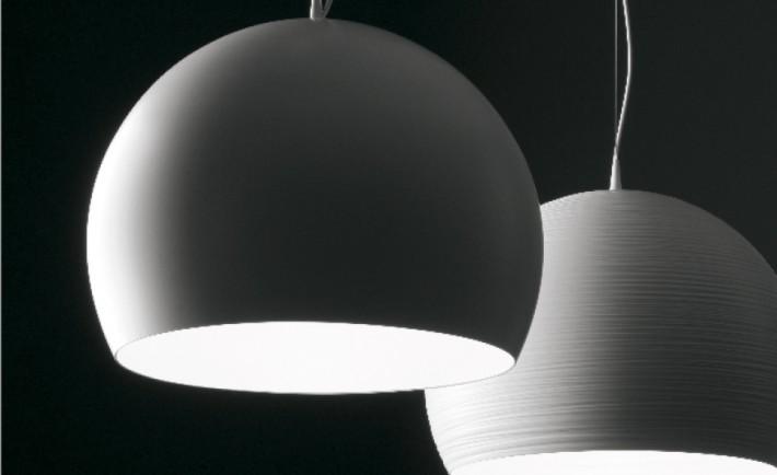 B Bubble, lampada a sospensione LED.