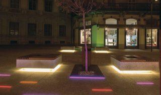 Illuminazione pubblica a LED per Bellinzona lighting design Stefano Dall'Osso