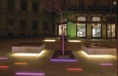 Lighting LED lighting design for Bellinzona Stefano Dall'Osso