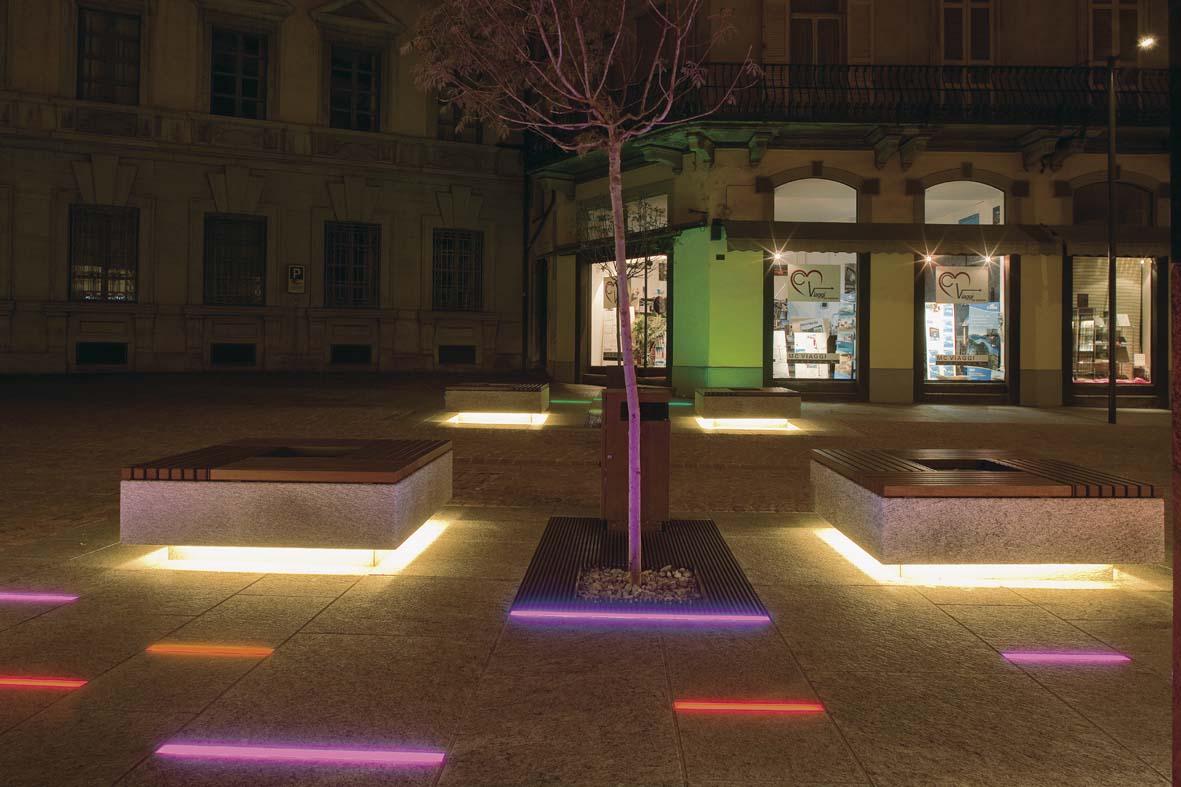 Illuminazione pubblica a led nuovi scenari luminosi a bellinzona