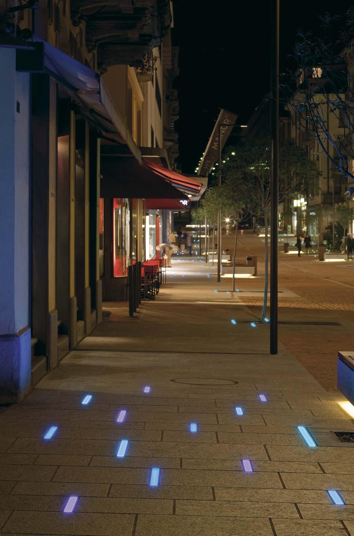 Lighting LED lighting design for Bellinzona Stefano Dall'Osso 10