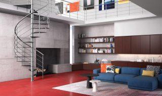 Scale interne nel catalogo Fontanot 2016, modello Lastra