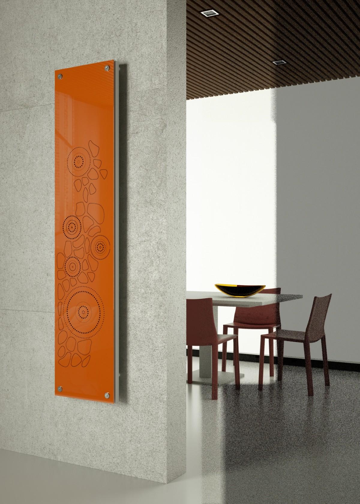 Scirocco H New vestido laranja placa perfurada