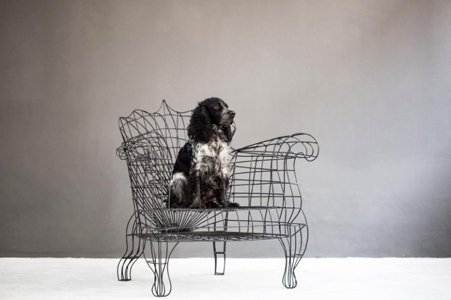 TID sillón espacio de María, Anacleto Spazzapan