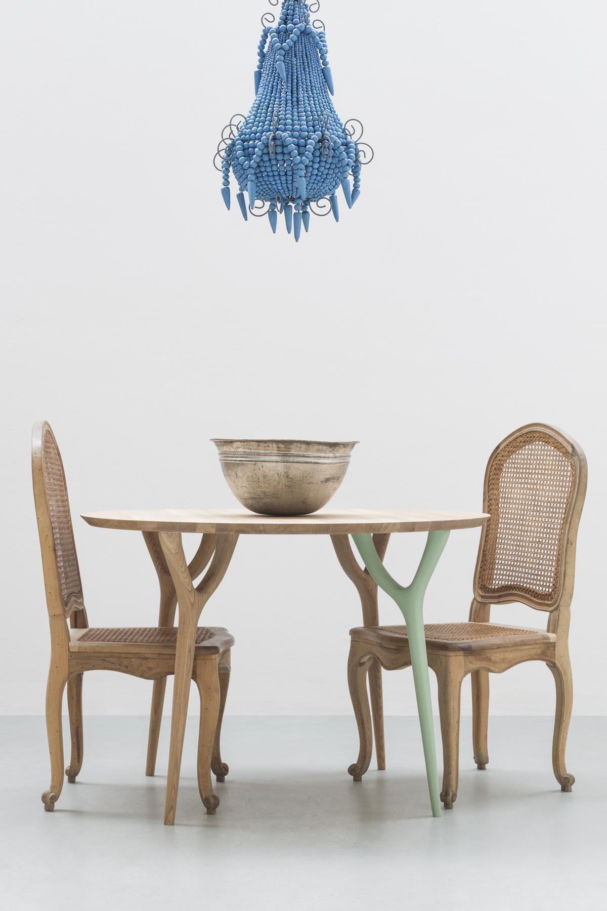 "Vegetable collection design Vito Nesta Cadriano, The round table ""ROVER"""
