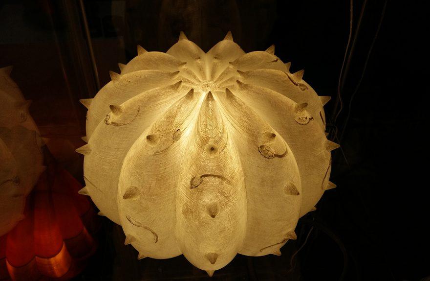 Desert Light, lampade-scultura dal design organico