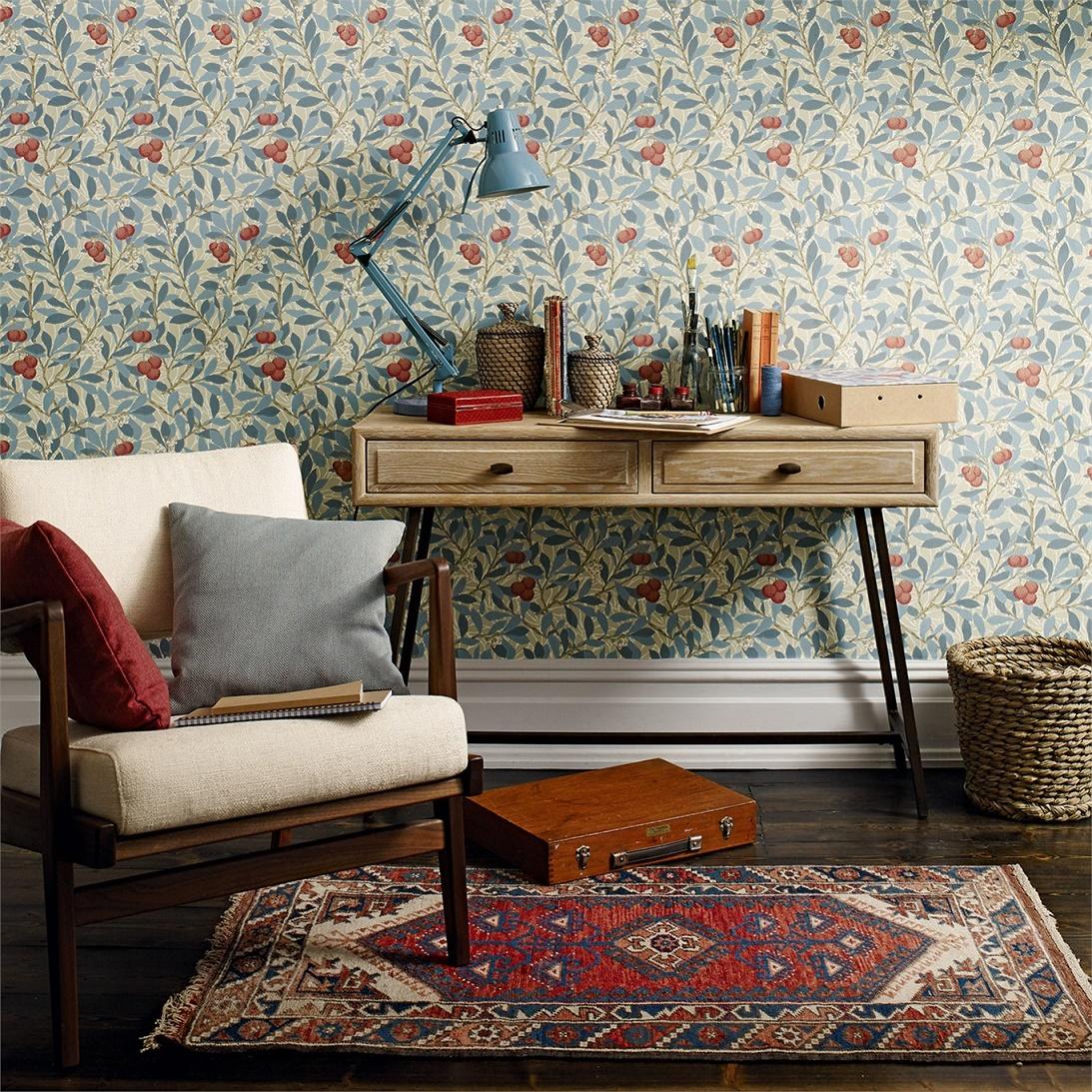 William Morris, dal 1860 un punto di riferimento nel mondo del design di carte da parati.