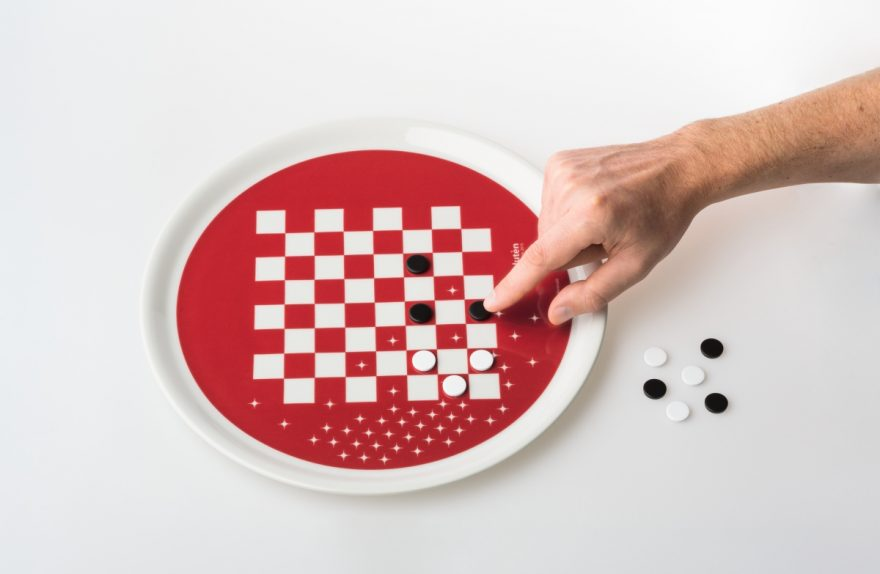 "Platten-Gadget ""Eat & Play"" Design Paolo Benevelli"