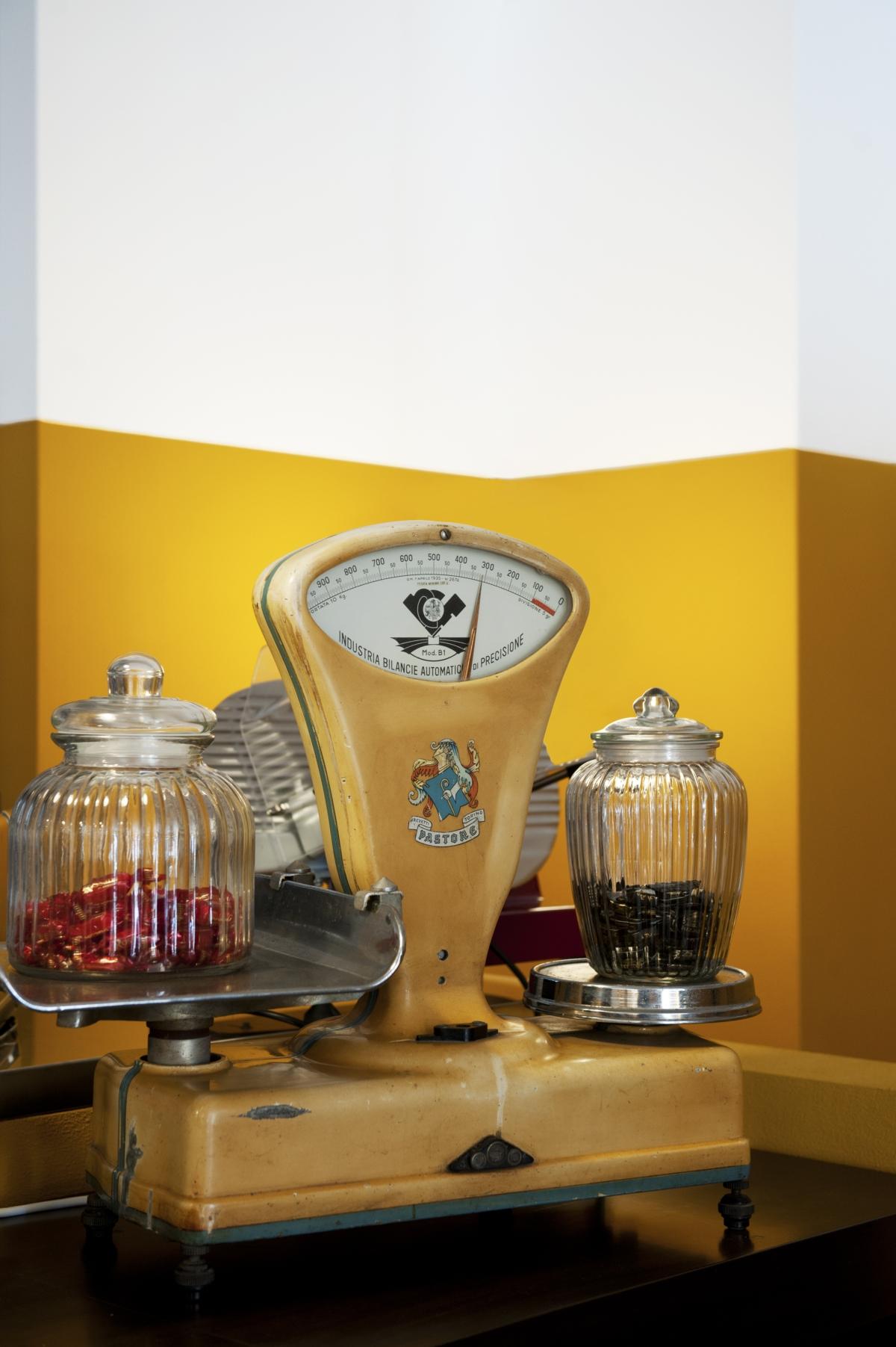 ristorante Trippa di Milano, trattoria old school interior design vintage 04