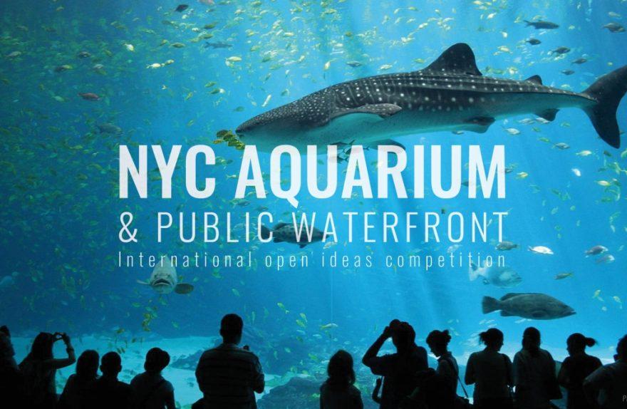 NYC水族館&公共のウォーターフロントの建築の競争