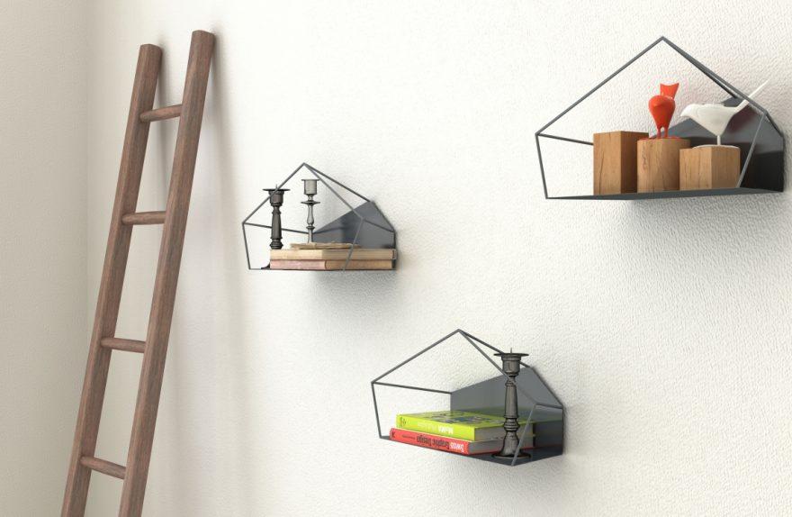 Prateleira de parede Wallhouse Roberto Paoli por Ligne Roset 02