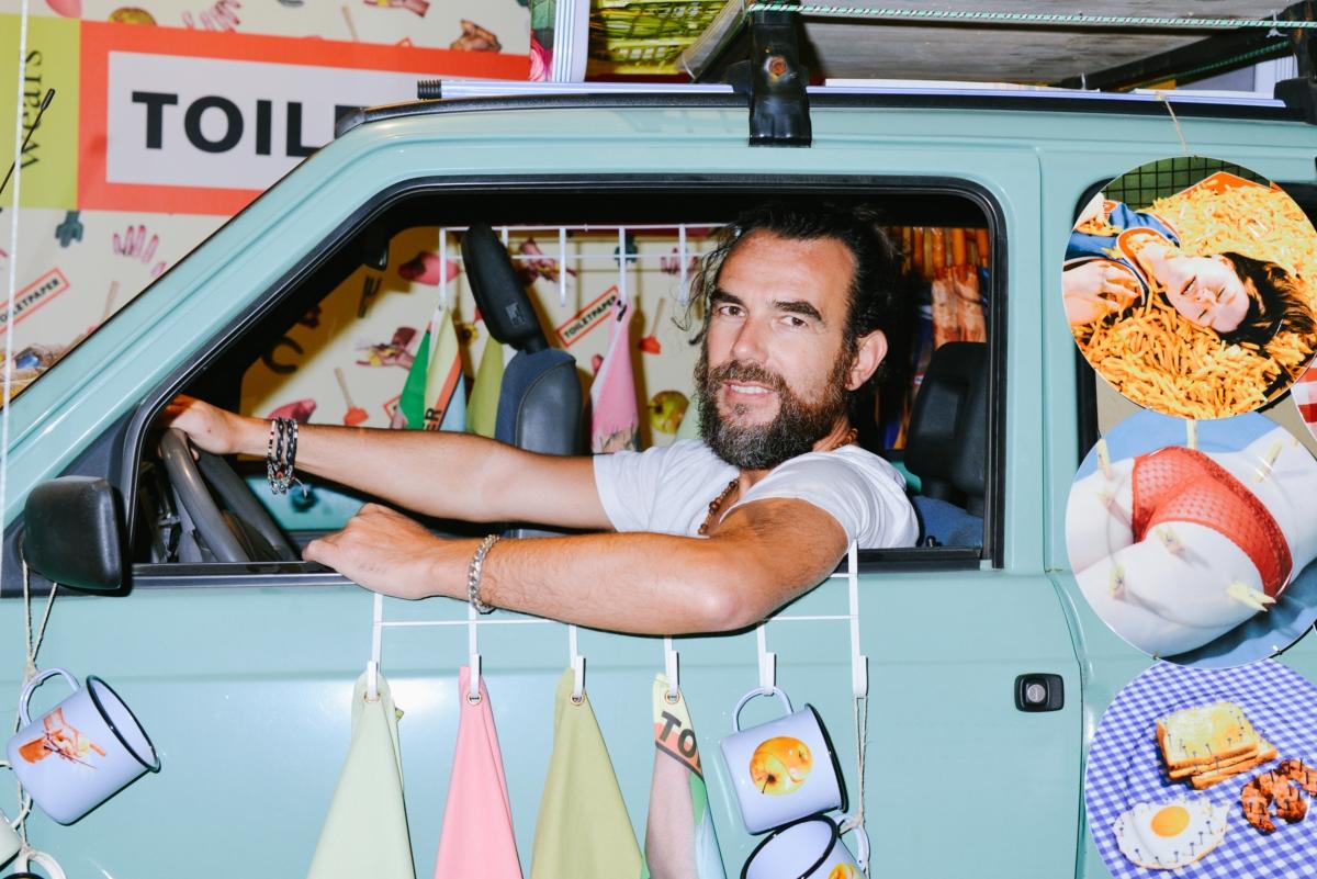 Seletivamente usa Toiletpaper Stefano Seletti 01 retrato ph Vanni Bassetti