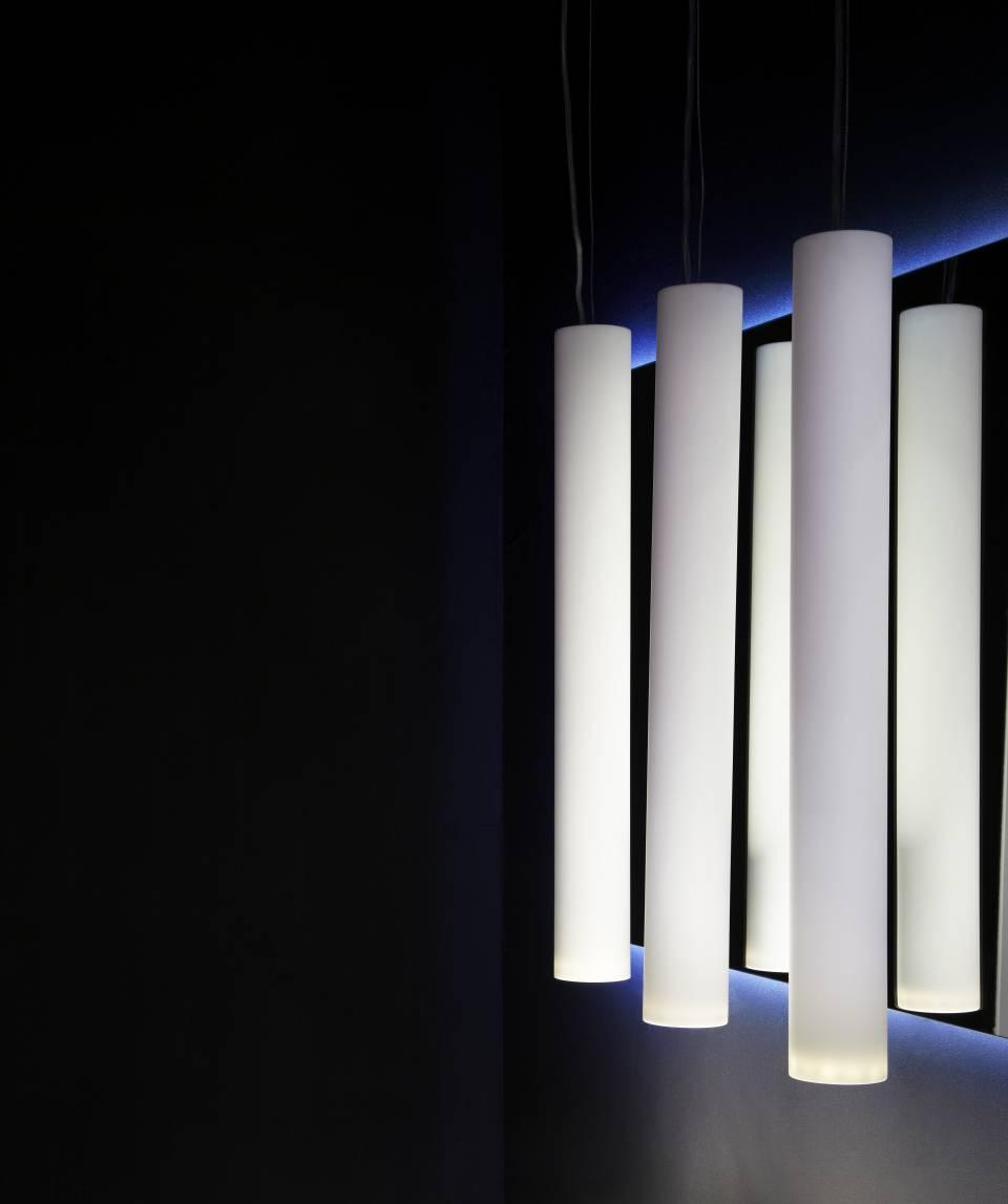 hi-macs dform lâmpadas fotógrafo tiziana arici