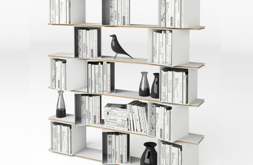 Previews DOMITALIA Salone del Mobile 2016, Adega biblioteca