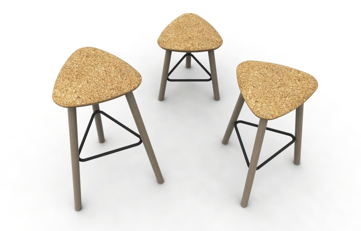 Pick Domitalia stool, sitting in Cork
