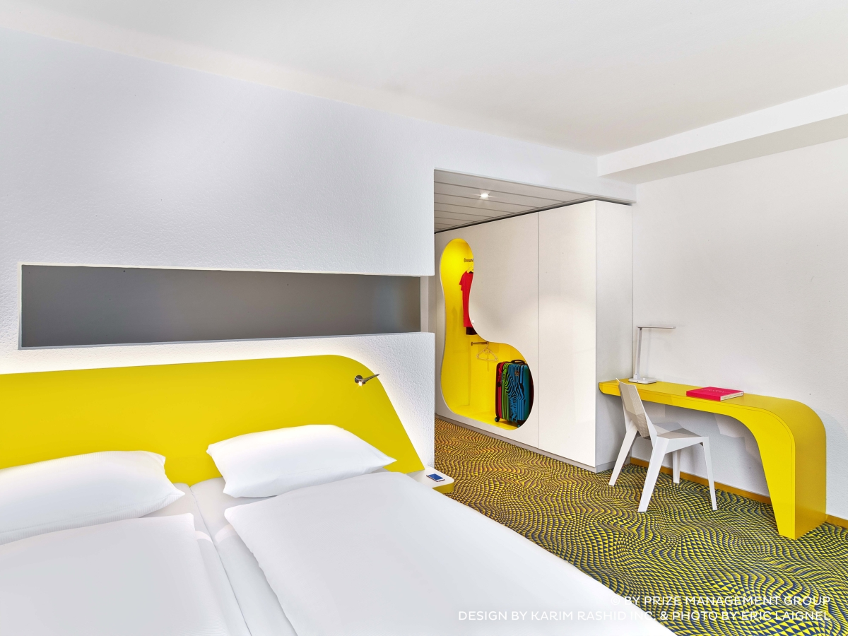 Karim Rashid Bonaldo and furnish the new prizeotel