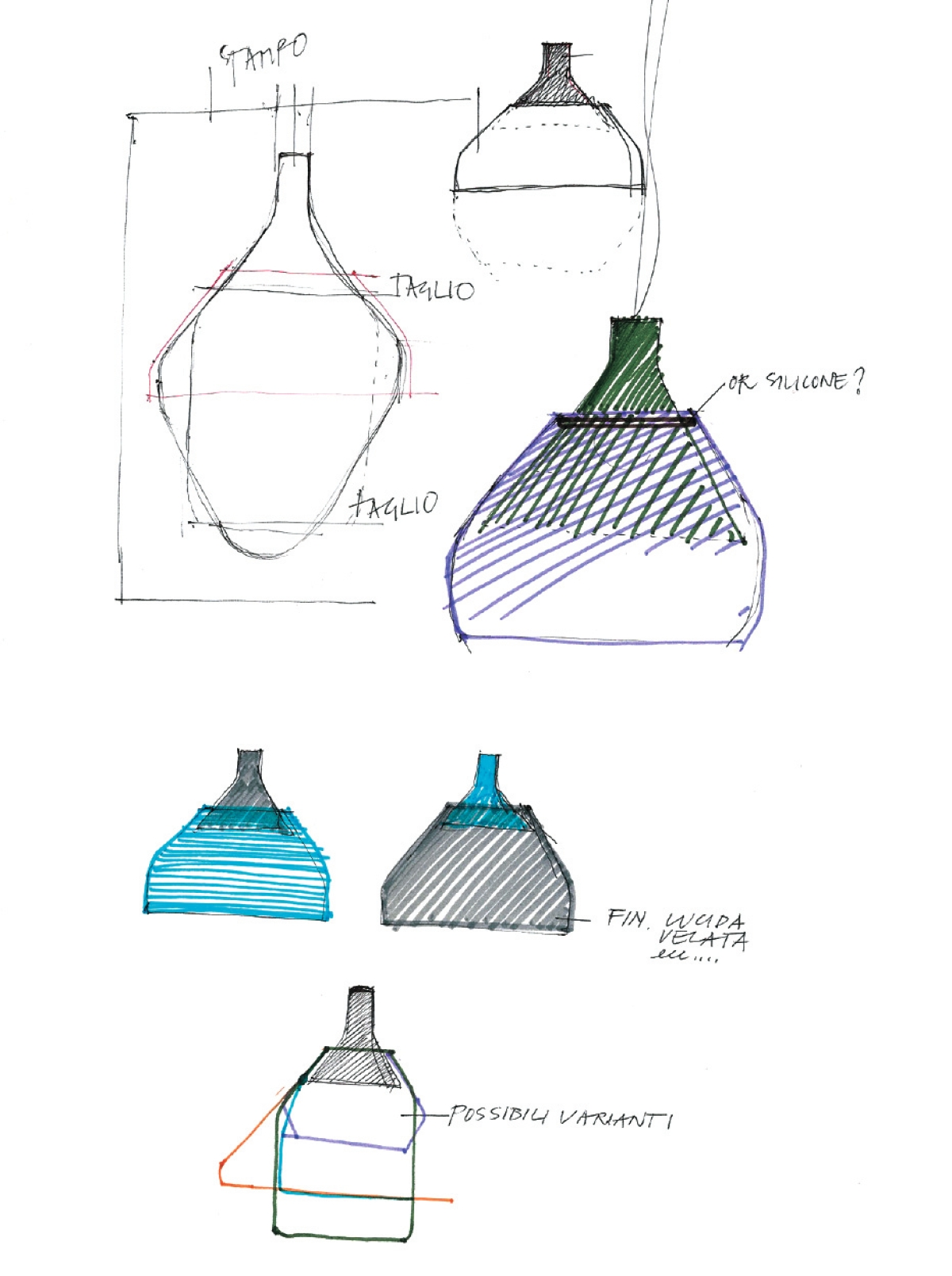 CAIIGO Suspension lamp sketch_3