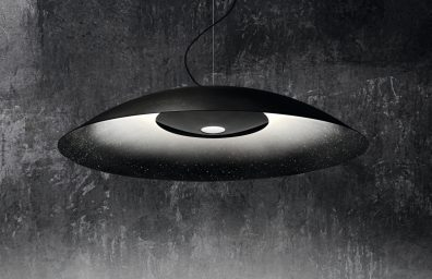 Diesel with Foscarini Living WhiteNoise Sept. detail