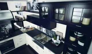 Marchi group Montserrat finitura nera Sink
