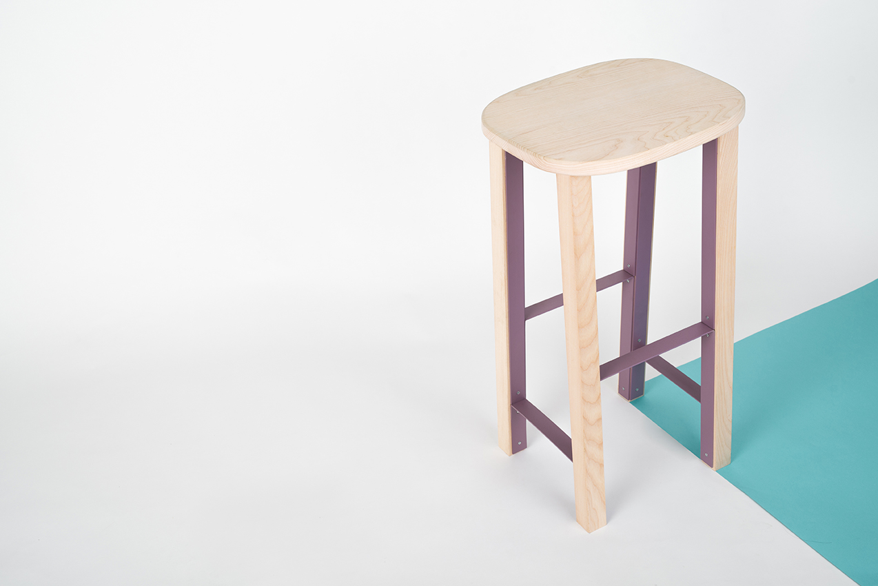Mario Alessiani high Antelope 01 stool