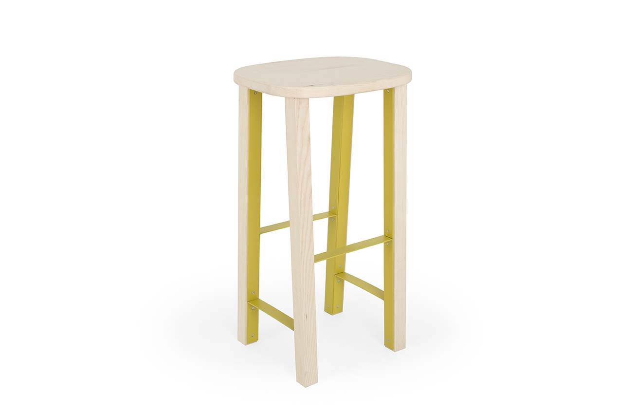 Mario Alessiani high Antelope stool