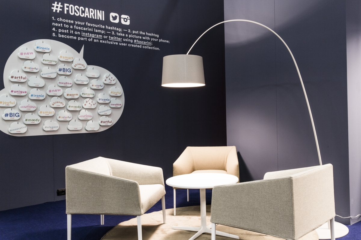 Foscarini a Estocolmo Suministro & Light Fair
