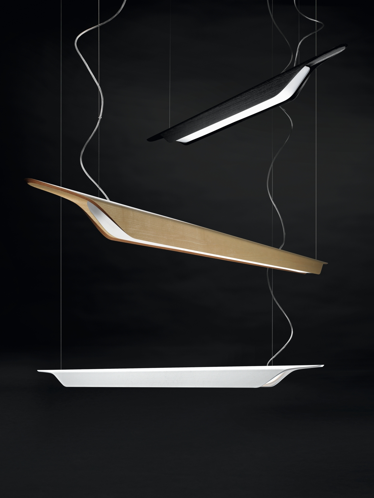 Troag, pendant lamp, 3 colors still