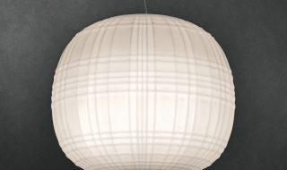 Tartan lampada in vetro soffiato still 2