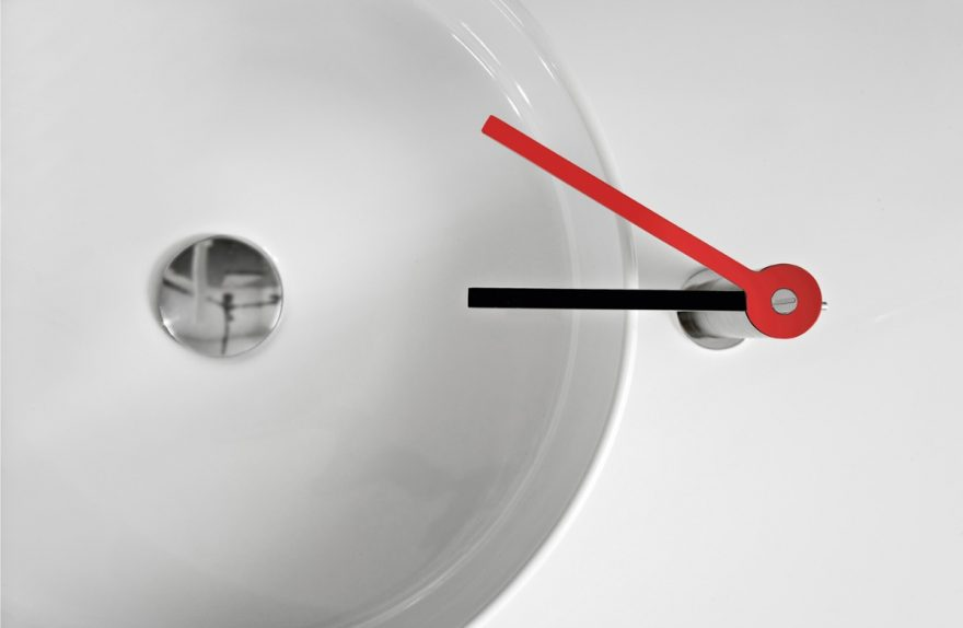 Treemme Rubinetterie Temps conception de la série Marco Pisano