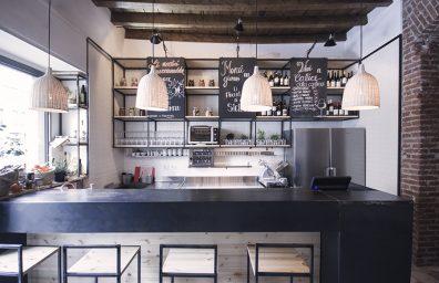 Muddica bistro Milán por el estudio DIDEA