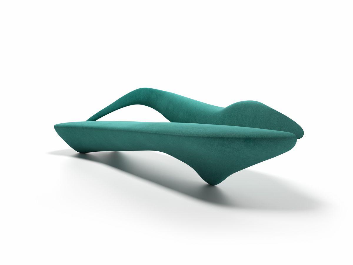 Sofá suave de la máquina, diseño Giovanni Tommaso Garattoni