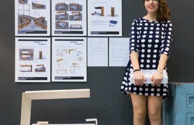 Giulia Zumpano Caricati, vincitrice del contest Originalia a Casaidea 2016