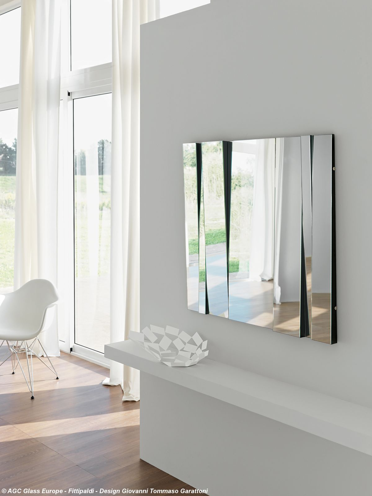 Espelho FITTIPALDI, design Giovanni Tommaso Garattoni