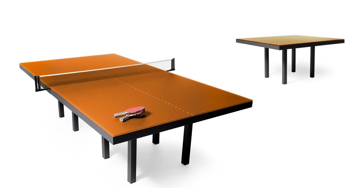 Skitsch Pang Table by Design Hub orange