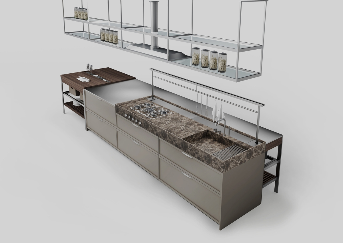 Ernestomeda K-Lab, Design Giuseppe Bavuso