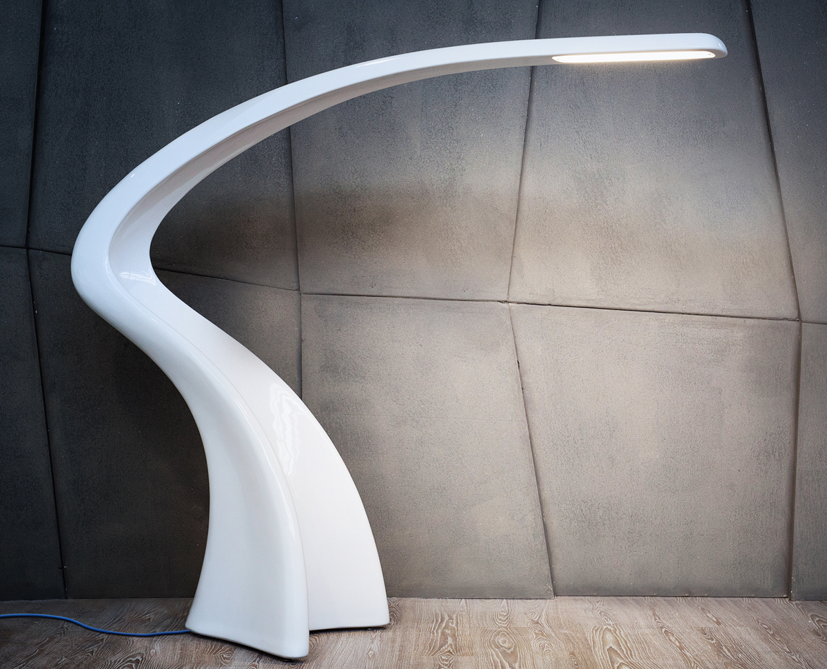 Lumia, monolithic floor lamp large
