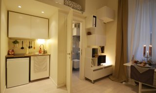 mini-apartment transformation in Milan, architect Martina Margaria