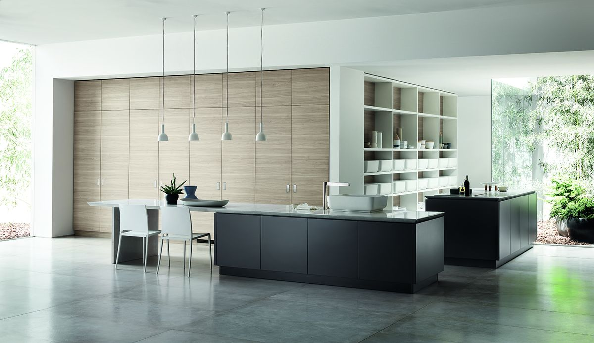 Scavolini kitchen environment Ki collection, design Nendo