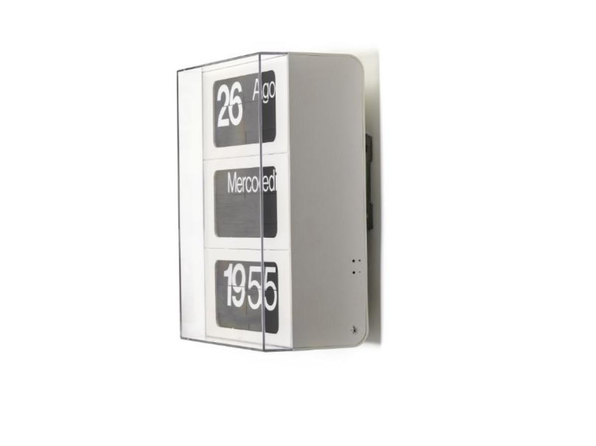 Solari Dator 60 verticale bianco