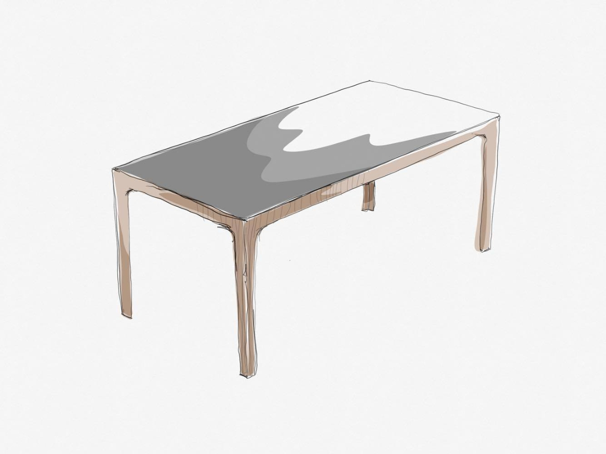 Amalong Tisch, Giulio Iacchetti für Bross